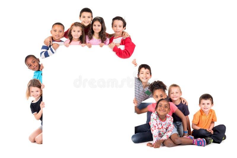 Grupa dzieci obrazy royalty free