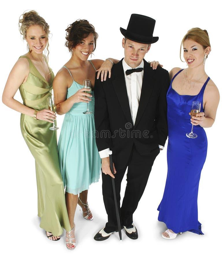grupa formalne fotografia royalty free