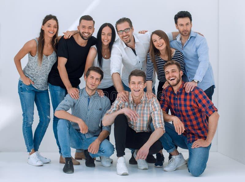 Grupa kreatywnie młodzi ludzie fotografia stock
