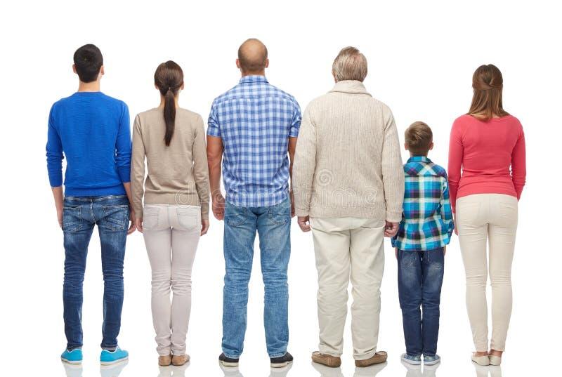 Grupa ludzi od plecy zdjęcie royalty free
