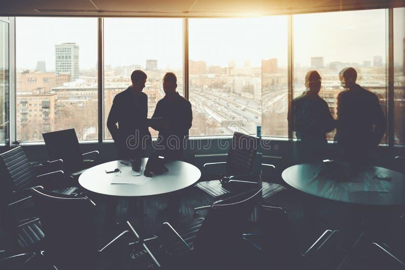 Grupa ludzie biznesu podczas spotkania zdjęcia stock