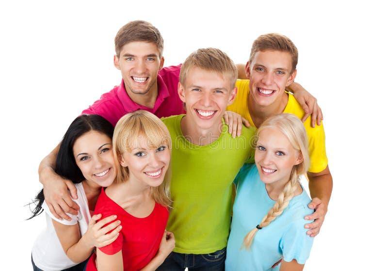 Grupa młodzi ludzie obraz stock