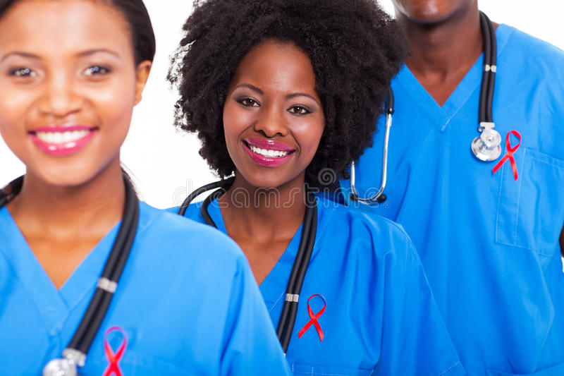 Afrykańskie opiek zdrowotnych pomoce obrazy stock