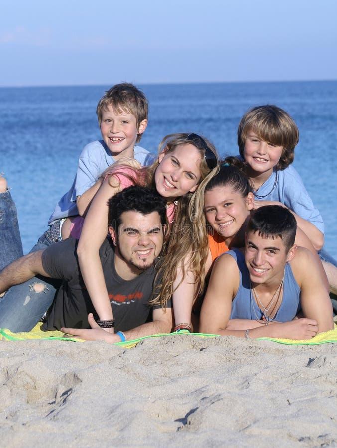 grupa szczęśliwy obrazy royalty free