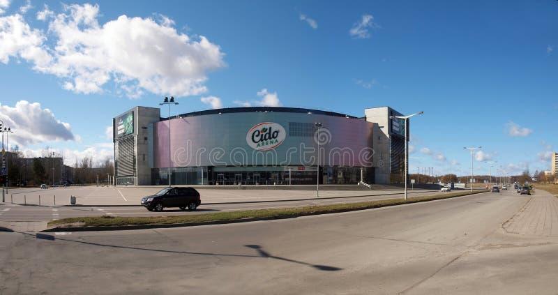Grupo 2011 de espera da arena de Eurobasket Cido a imagens de stock royalty free