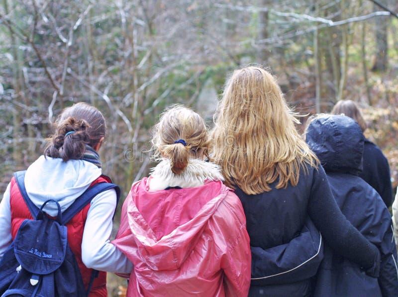 Grupo Adolescente Fotos de archivo