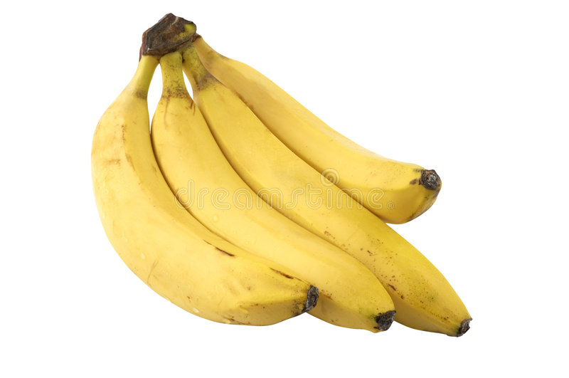 Grupo da banana imagens de stock