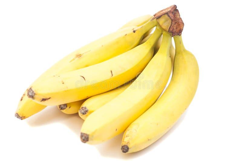 Grupo da banana isolado imagens de stock royalty free
