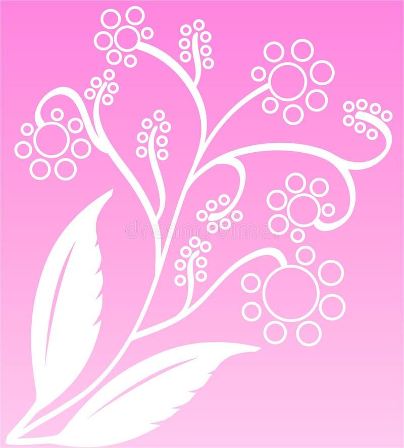Grupo da flor ilustração royalty free