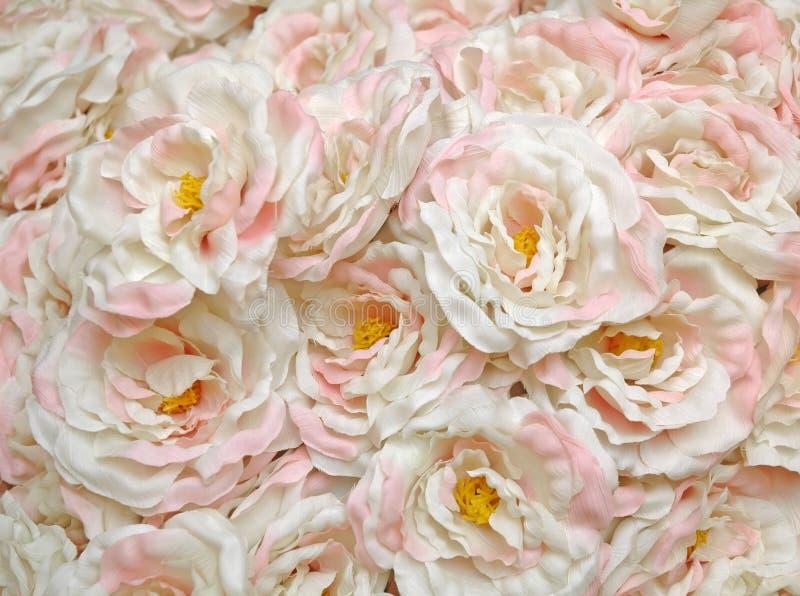 Grupo da flor artificial fotos de stock