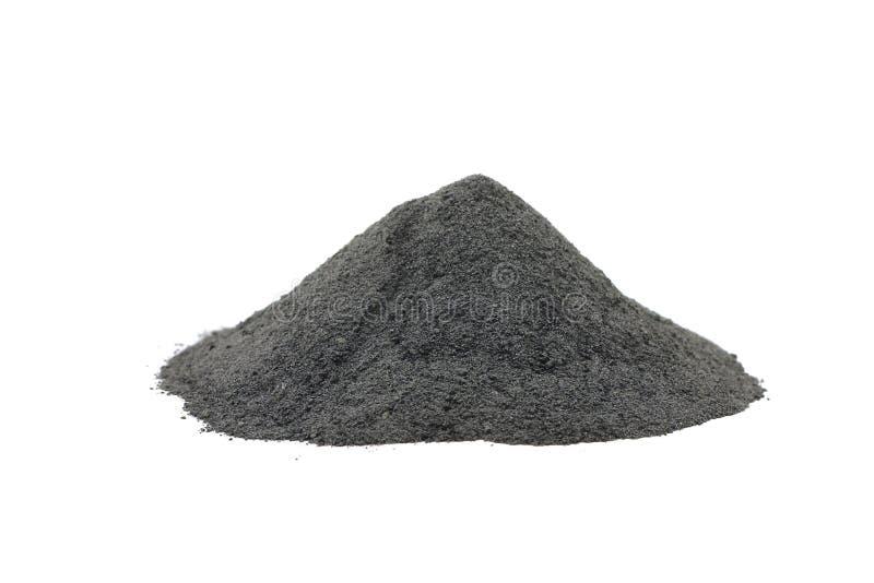 Grupo da polpa do pó preto imagem de stock