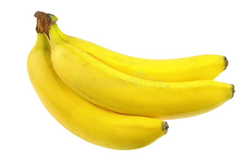 Grupo das bananas fotos de stock royalty free