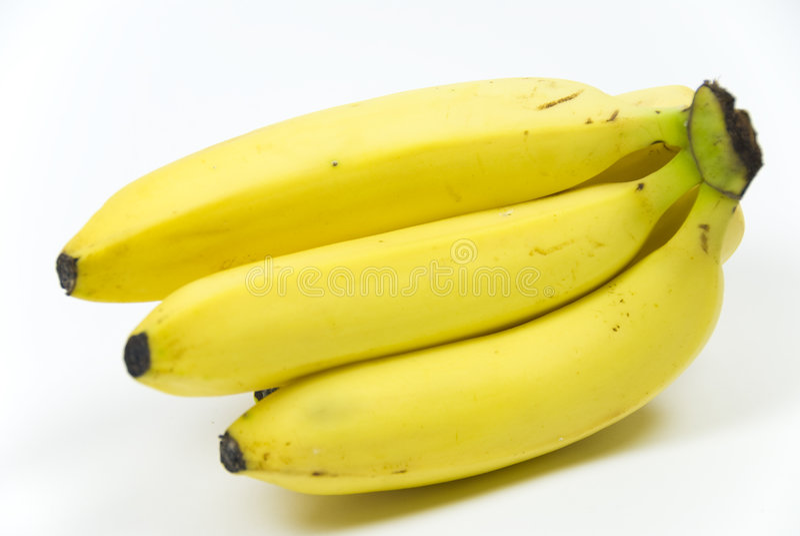 Grupo das bananas fotos de stock royalty free
