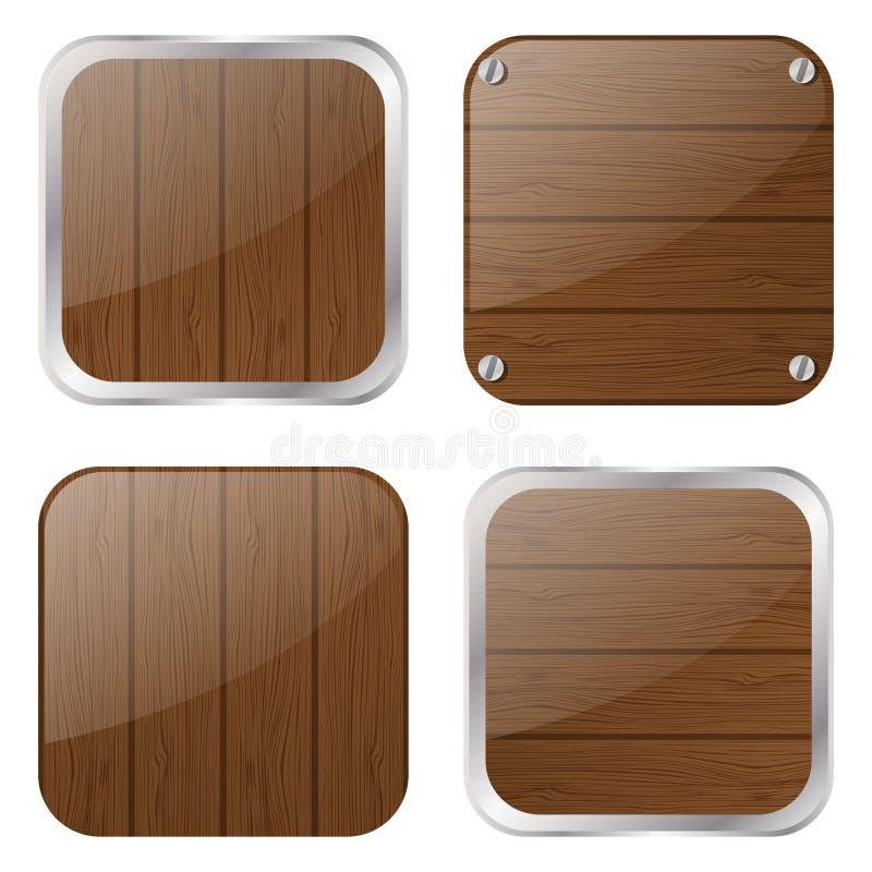 Grupo de ícones dos apps ilustração stock