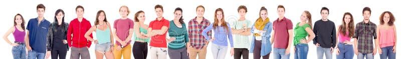 Grupo de adolescente fotografia de stock
