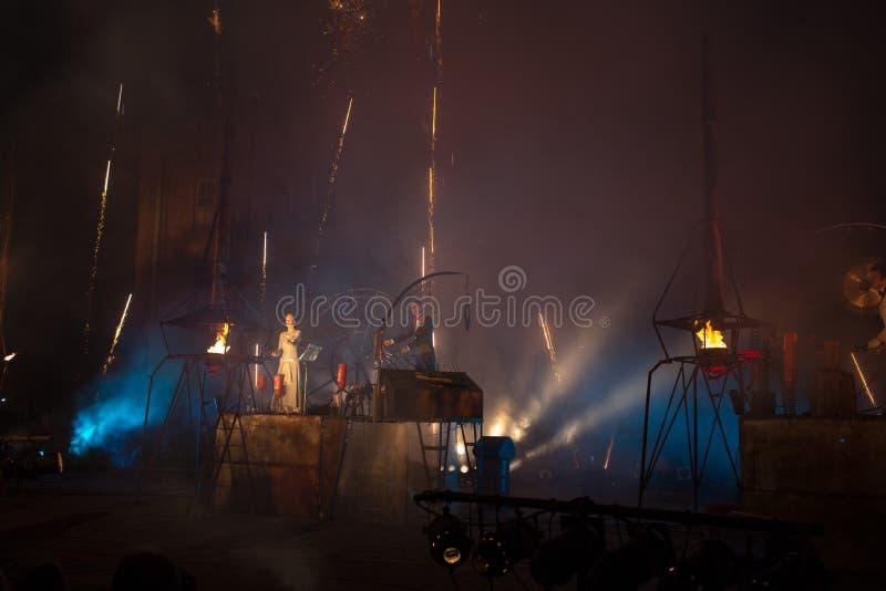 Grupo De Alemanha Titânico No Espetáculo Foto de Stock Editorial