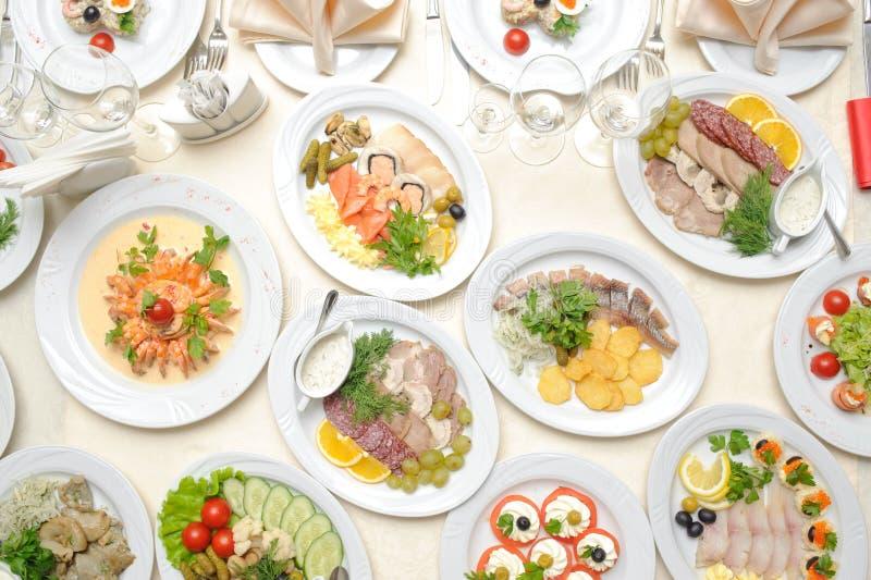Grupo de alimento imagem de stock royalty free