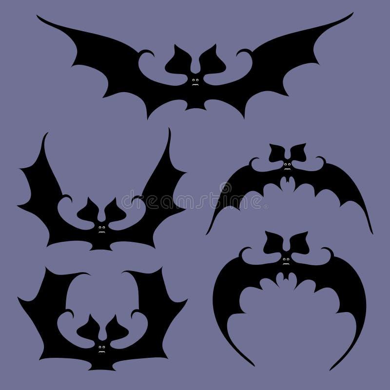 Grupo de bastões para Dia das Bruxas