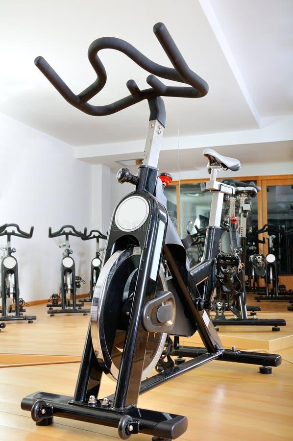 Grupo de bicicletas de giro imágenes de archivo libres de regalías