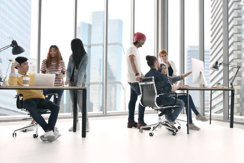 Grupo de businesspersons imagens de stock