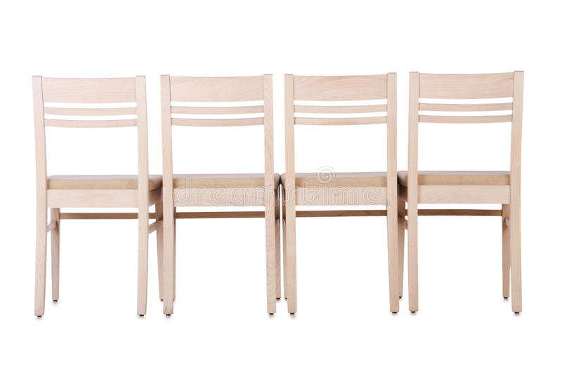 Grupo de cadeiras imagens de stock
