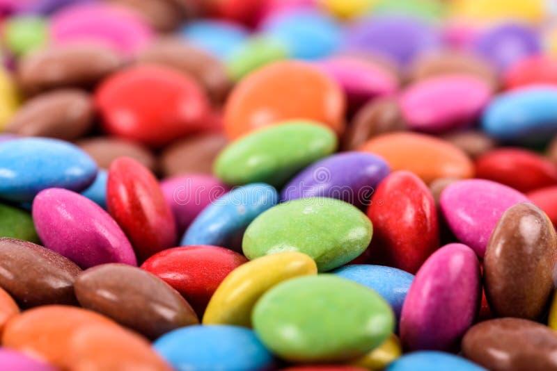 Grupo de caramelo colorido dulce fotografía de archivo libre de regalías