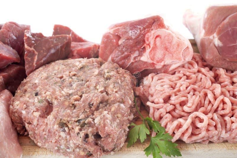 Grupo de carnes imagem de stock royalty free