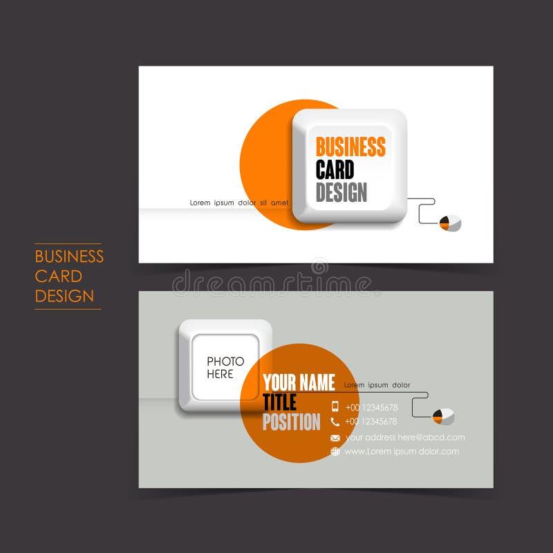 Grupo de cartão do vetor com teclado ilustração do vetor