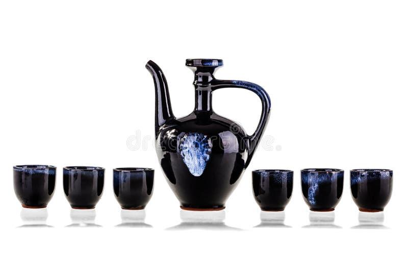 Grupo de chá imagem de stock