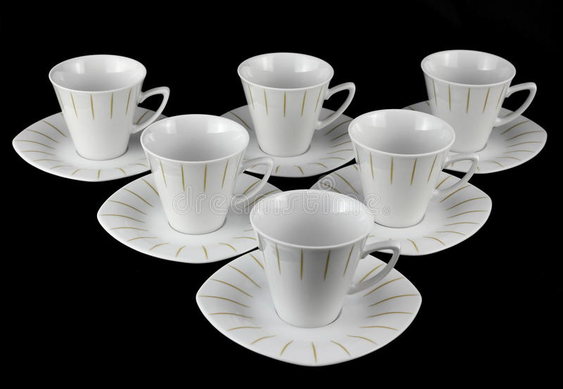 Grupo de chá da porcelana. fotografia de stock royalty free