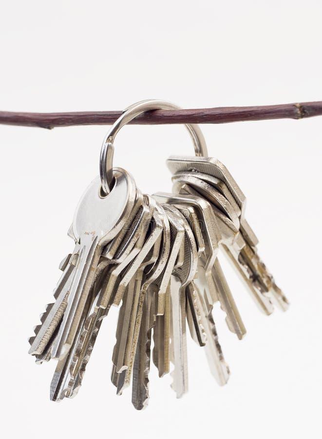 Grupo de chaves foto de stock
