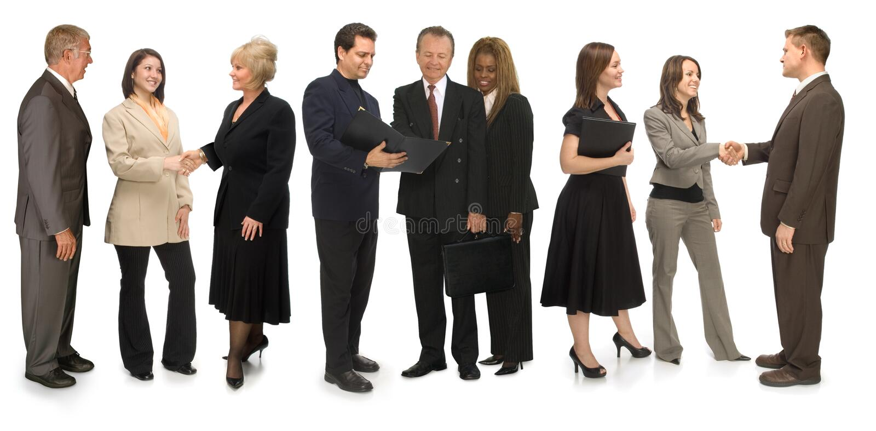 Grupo de coligação fotografia de stock