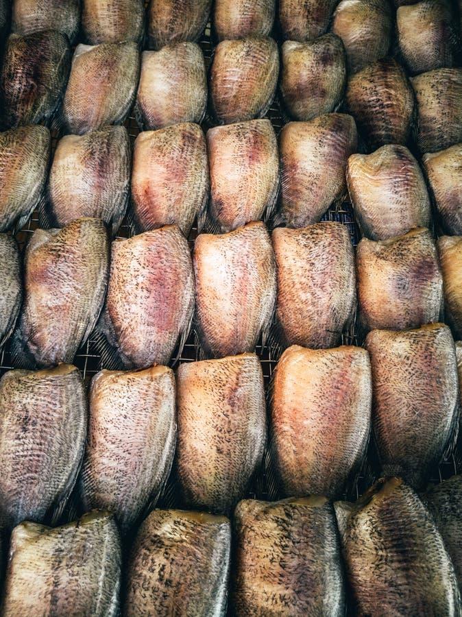 Grupo de damselfish salgado secado foto de stock royalty free