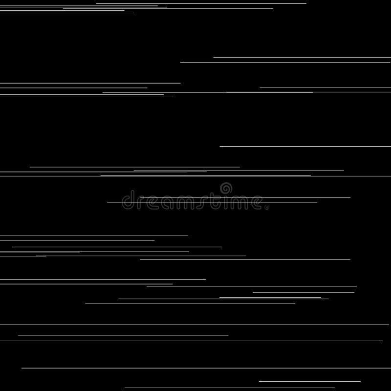 Grupo de elementos do pulso aleatório Moldes do erro do tela de computador Projeto do sumário do ruído do pixel de Digitas Pulso  ilustração do vetor