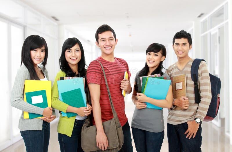 Grupo de estudantes imagem de stock