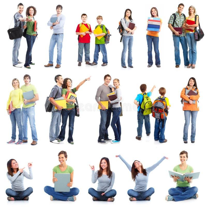 Grupo de estudantes. fotografia de stock royalty free