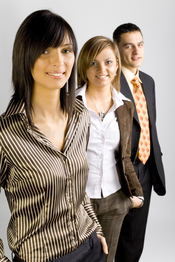Grupo de executivos fotos de stock