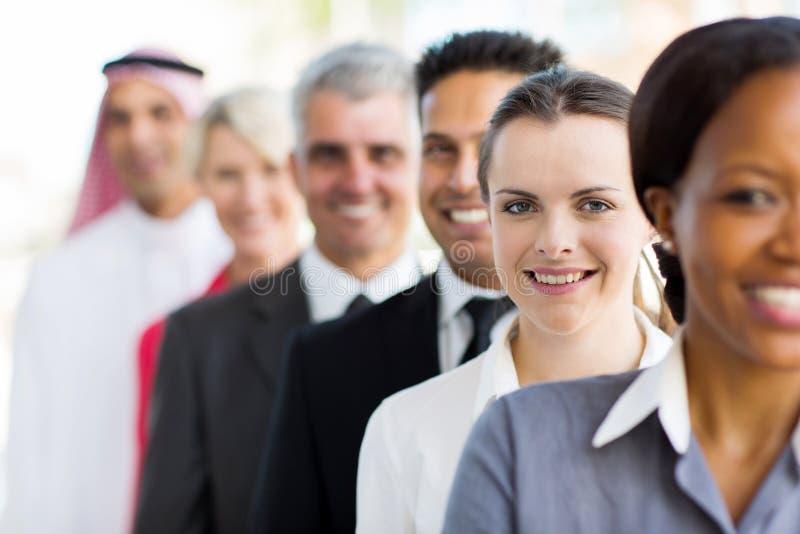 Grupo de executivos imagem de stock royalty free