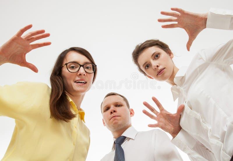 Grupo de executivos fotografia de stock royalty free