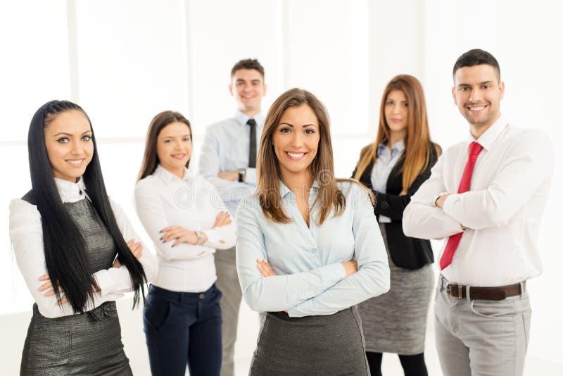 Grupo de executivos novos foto de stock royalty free