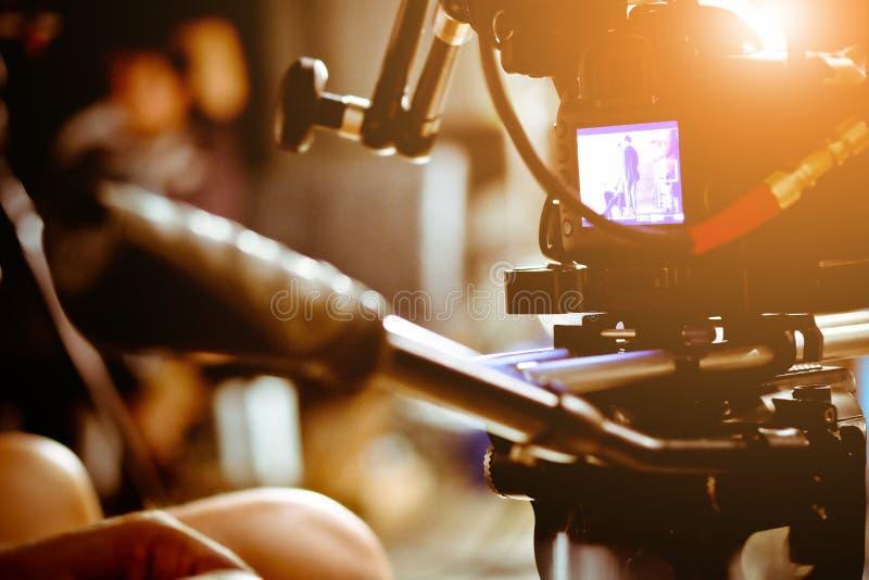 Grupo de filme imagem de stock