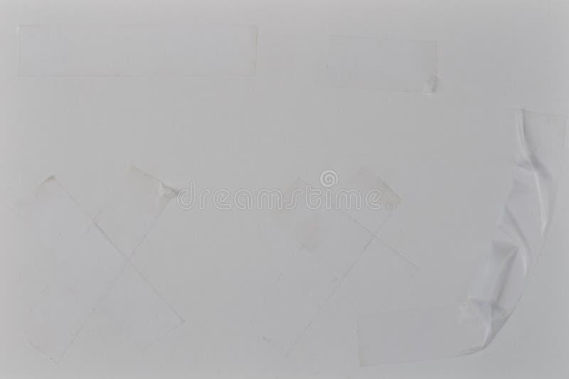 Grupo de fita transparente foto de stock