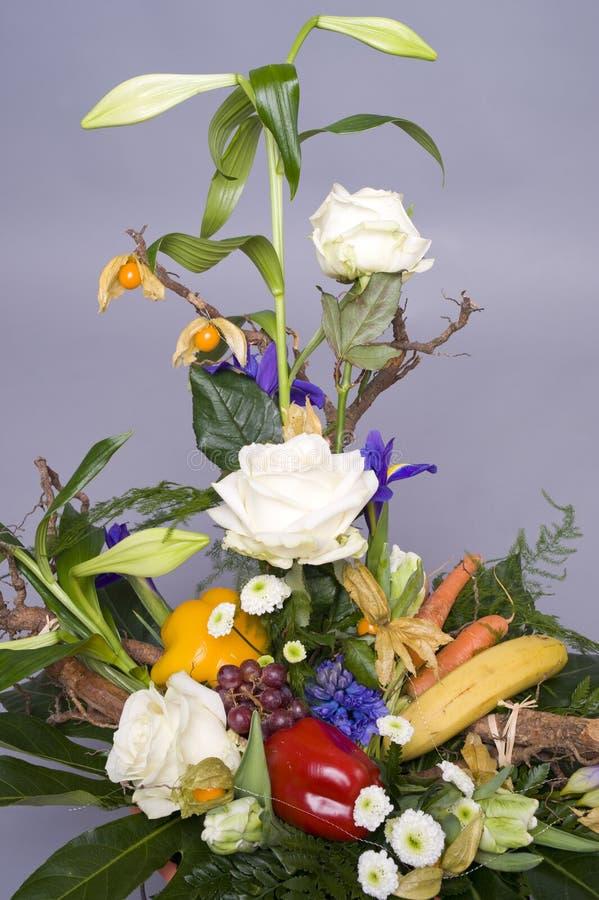 Grupo de flores imagens de stock