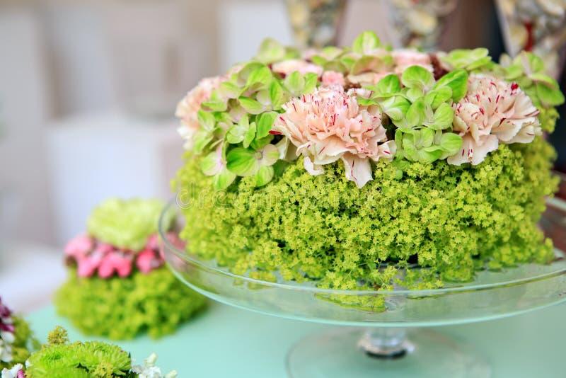 Grupo de flores do verão foto de stock