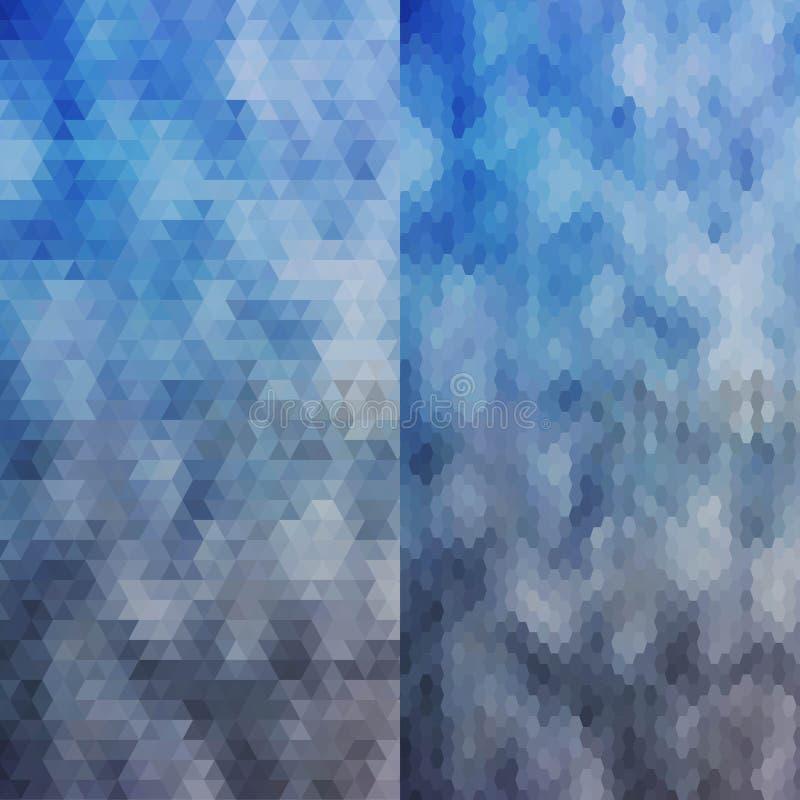 Grupo de formas geométricas elemento moderno para a decoração, decoração molde para apresentações Disposição para anunciar Eps 10 ilustração stock