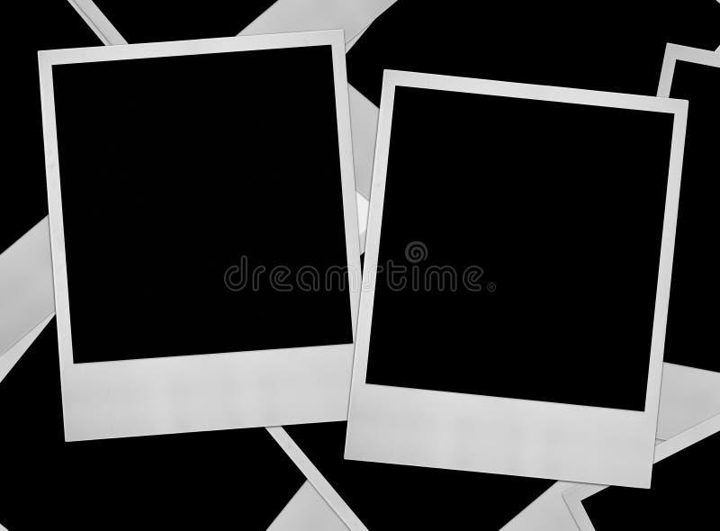 Grupo de frames da foto imagens de stock royalty free