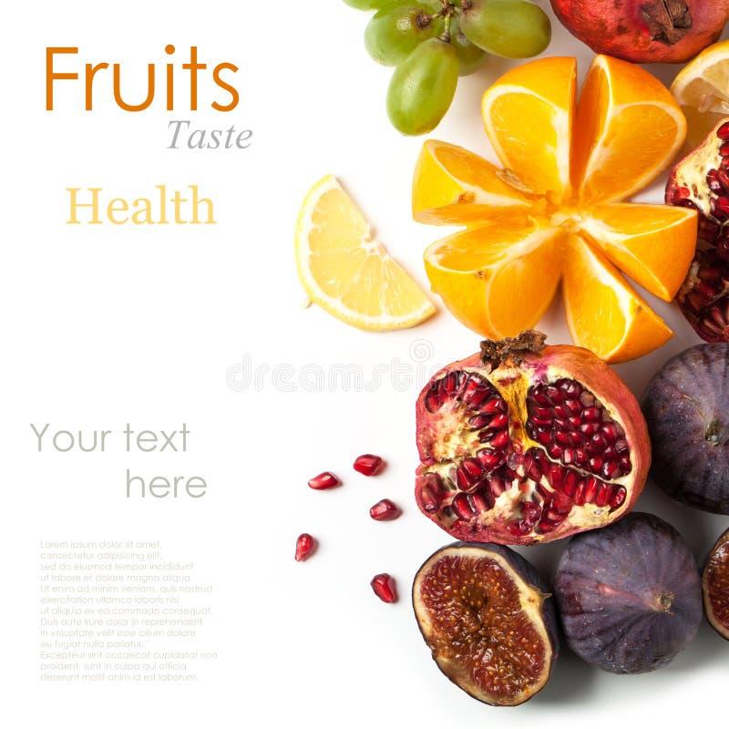 Grupo de frutas frescas fotos de archivo libres de regalías