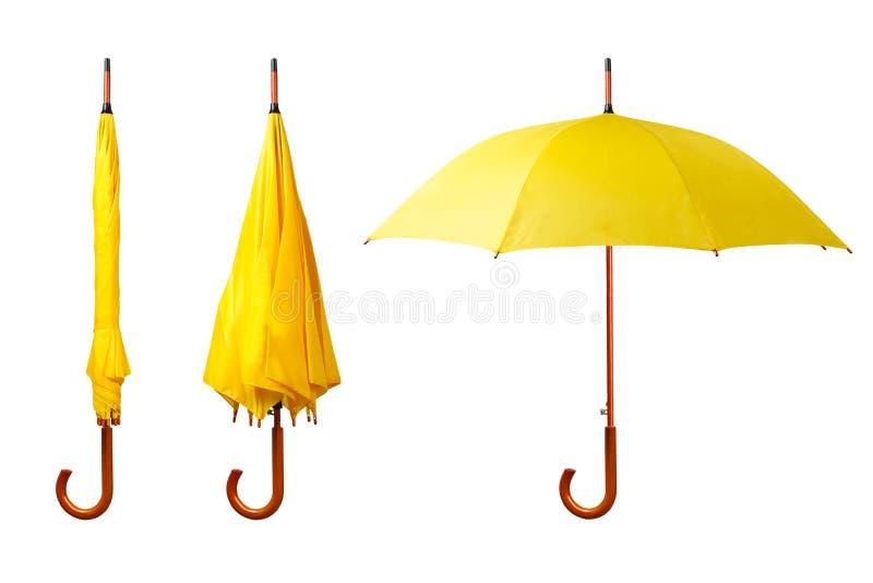 Grupo de guarda-chuvas fotos de stock royalty free