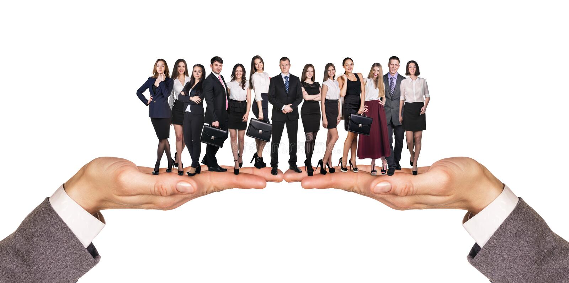 Grupo de hombres de negocios imagen de archivo libre de regalías