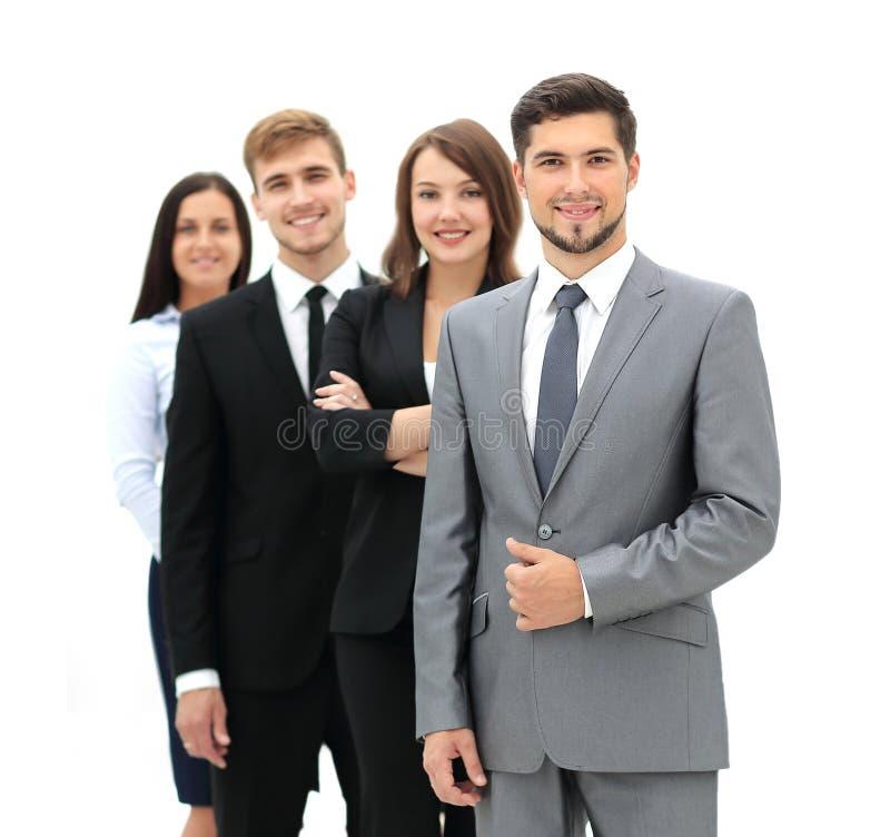 Grupo de hombres de negocios en el lugar de trabajo imagenes de archivo